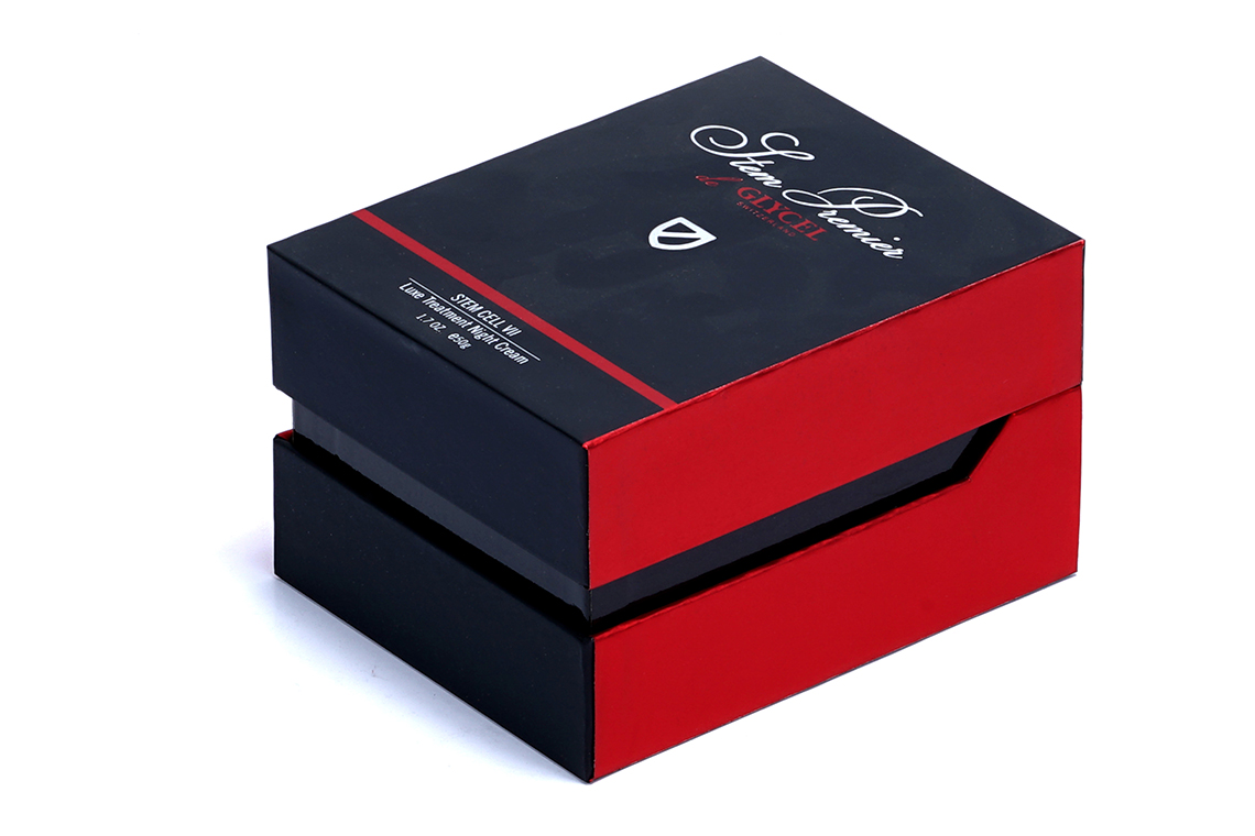 Glycel Embossed Paper Box