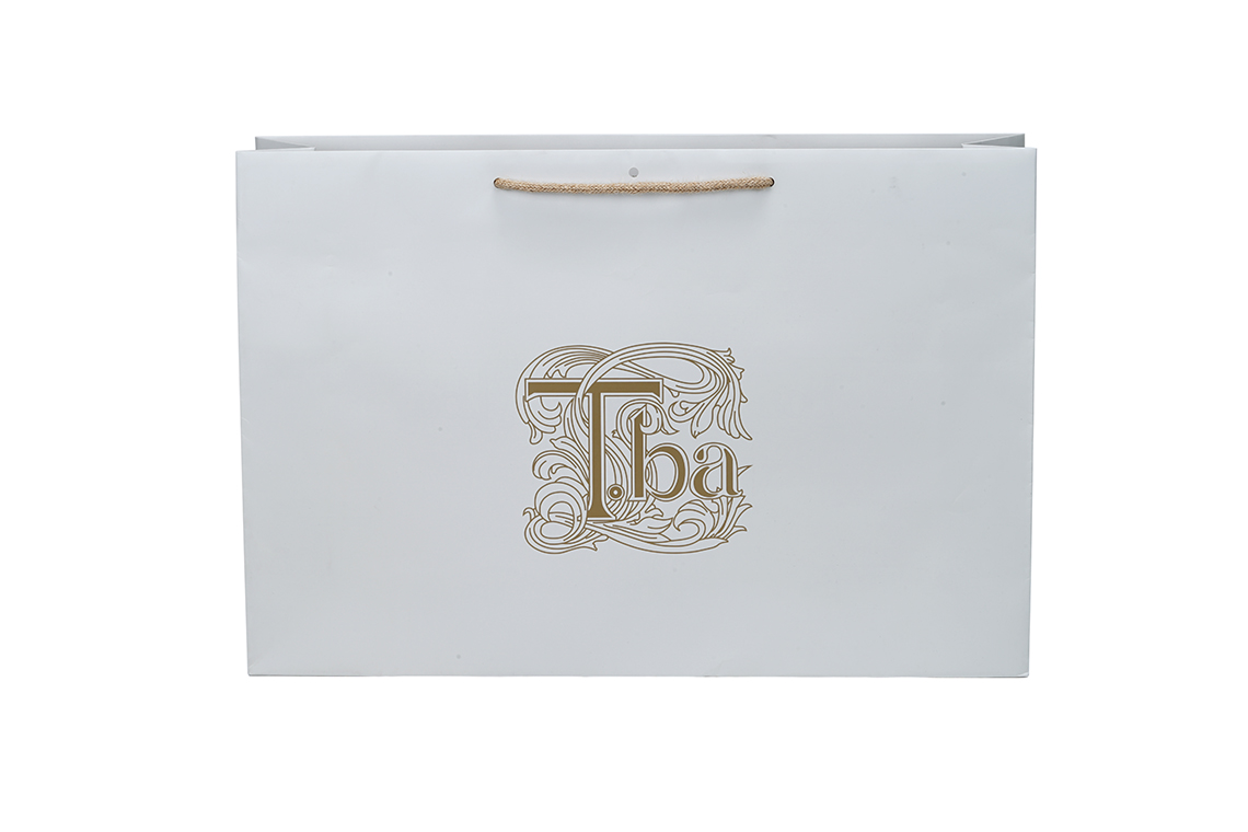 T.BA Laminated Paper Shopping Bag