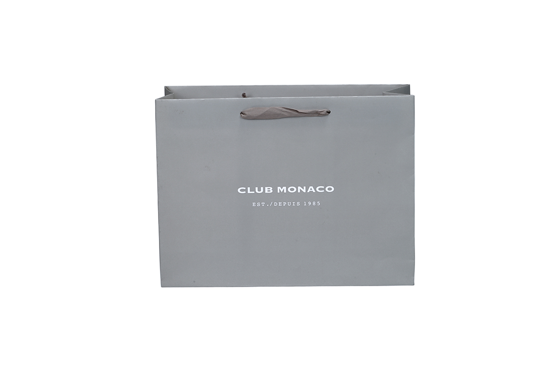 Club Monaco Paper Shopping Bag