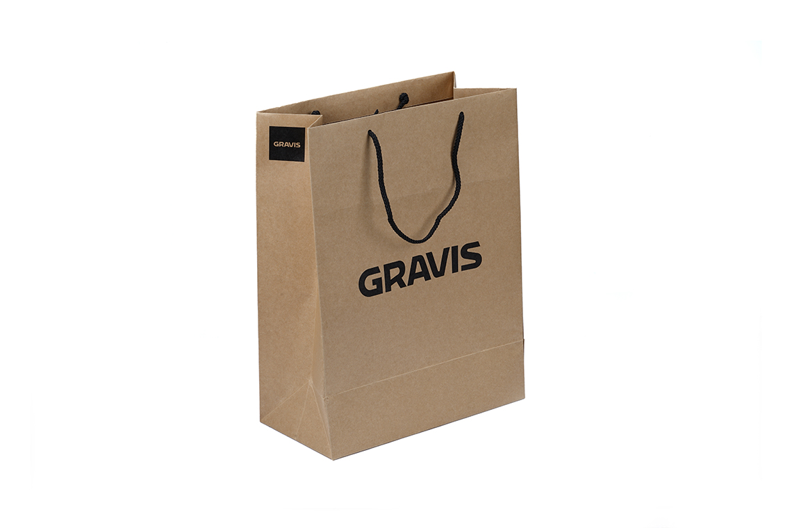 Cravis Kraft Paper Shopping Bag