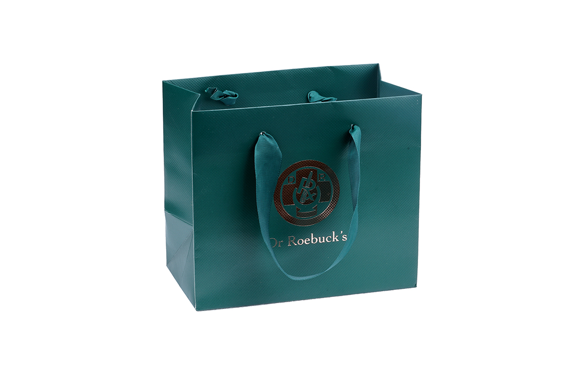 Dr. Roebuck Laminated Paper Shopping Bag