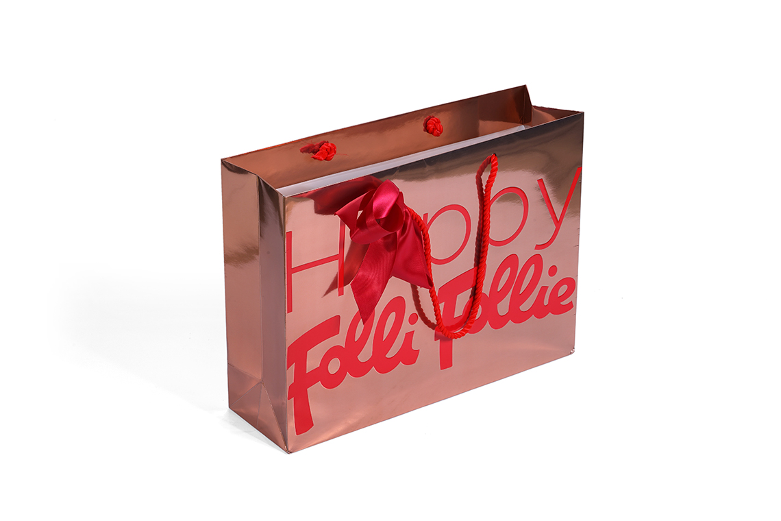Folli Follie Seasonal Paper Shopping Bag