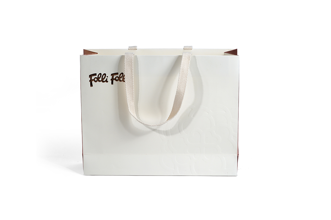 Folli Follie Embossed Paper Shopping Bag