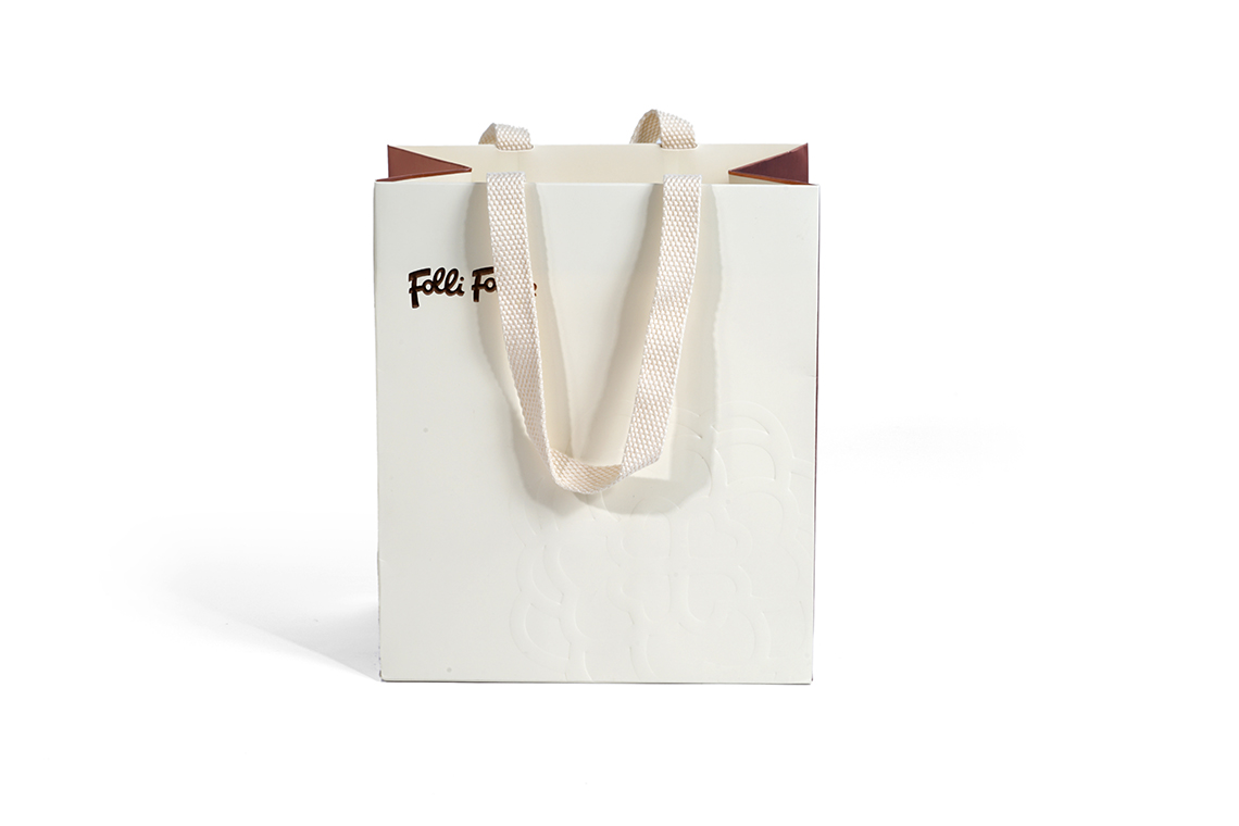 Folli Follie Embossed Paper Shopping Bag