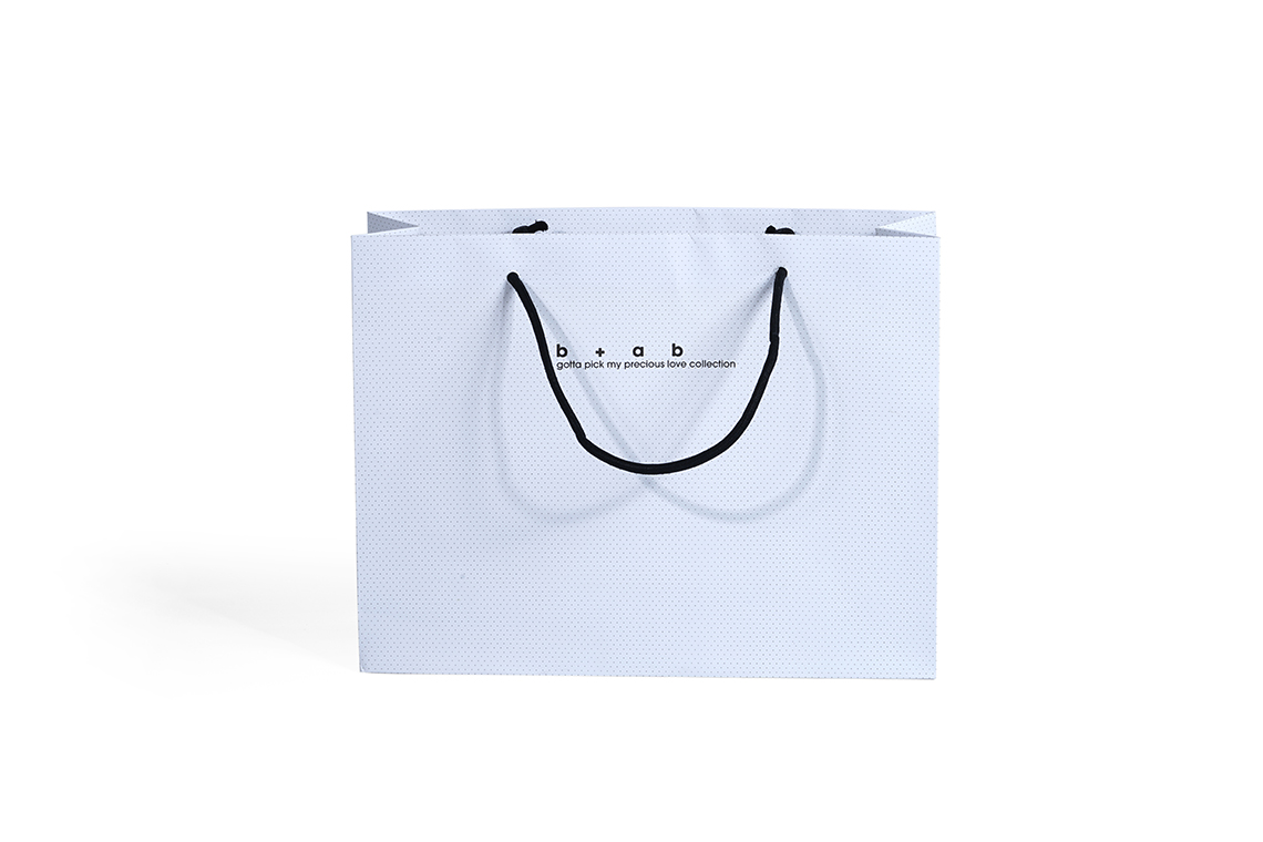 B+AB Paper Shopping Bag