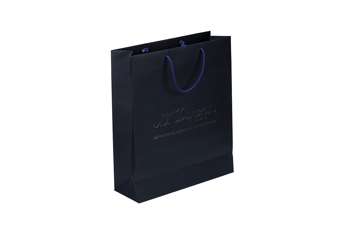 S.T. Dupont Hot Stamp Paper Shopping Bag