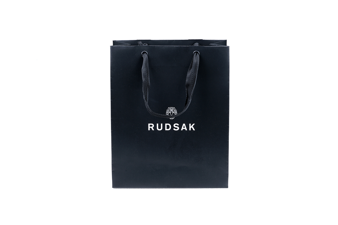 Rudsak Textured Paper Shopping Bag