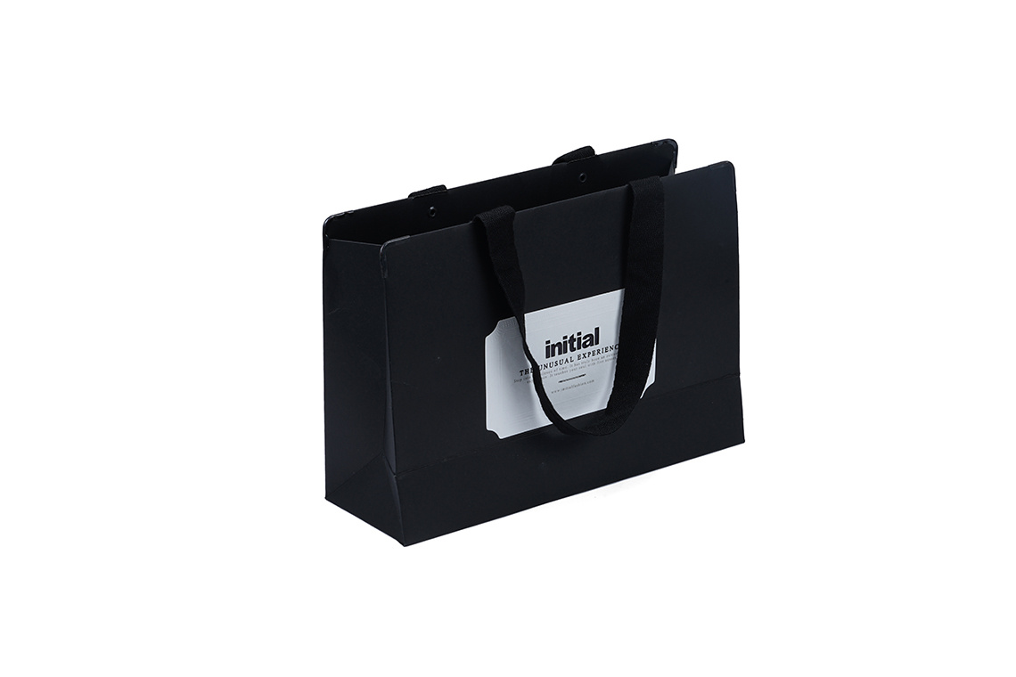 Initial Paper Shopping Bag
