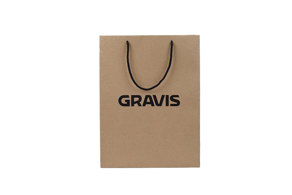 Cravis Kraft Paper Shopping Bag